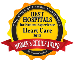 Women's Choice Award: Kansas Medical Center Is Top for Patient Experience in Heart Health