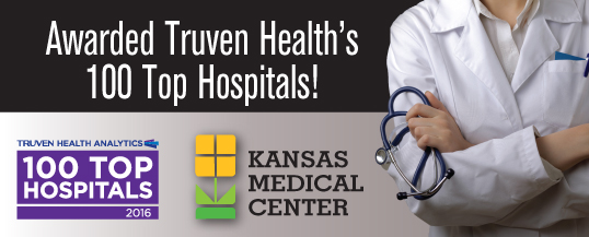 Kansas Medical Center Named One of the Nation's 100 Top Hospitals